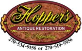 Hopper's Restoration logo